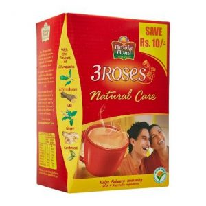 Brooke Bond 3 Roses Natural Care Tea 500g
