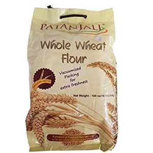 Patanjali Whole Wheat Atta-5 Kgs