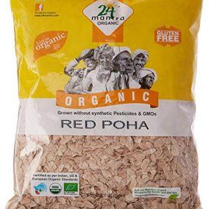 24 Mantra Organic Red Poha 1Kg