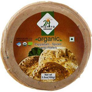 organic pappad spicy_