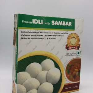 Idly with Sambar