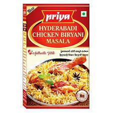 Priya Hyderabadi Chicken Biryani Masala
