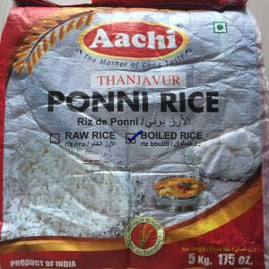 Aachi Ponni Boiled 10Kg