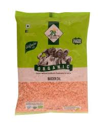 Organic Masoor Dal Washed-1