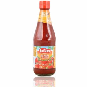 Kissan Tomato ketchup no garlic