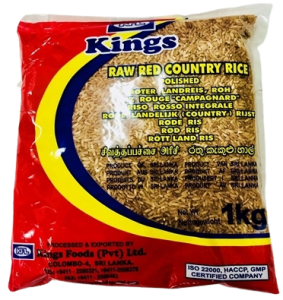 Kings Red Raw Rice (polished) - 1kg