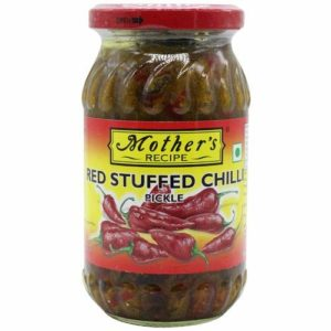 Mother`s Chilli Red Stuffed Pickle 500g