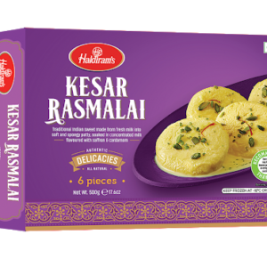 Haldirams Kesar Rasmalai (Fresh) 500g