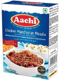 Aachi Chicken Manchurian Masala 50g (B2 G1)