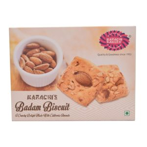 Karachi Bakery badam Biscuits 250g