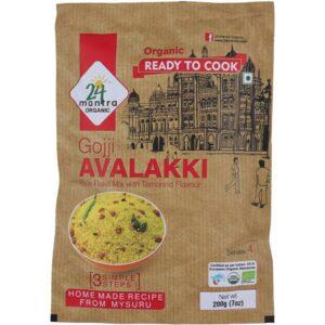 24 Mantra Organic-Gojji Avalakki-200g-Front