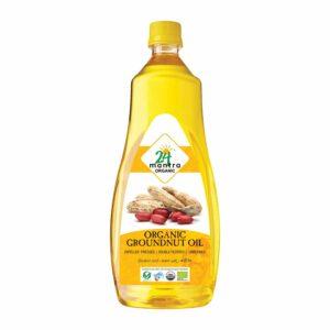 24 mantra Organic Groundnut Oil 1 L