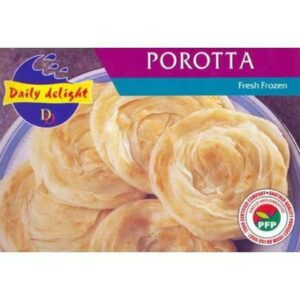 Frozen Daily Delight parotta 454g
