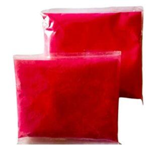 Red rangoli