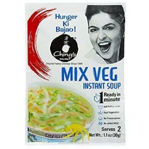 Chings Mix Veg Soup (4 Sachets) 60g jpg