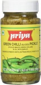 Priya Green Chilli Pickle 300g